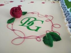 Hochzeitstorte rechteckig Logo