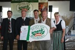 Gutes vom Bauernhof-Verleihung